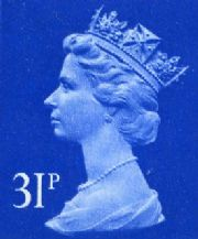 31p Discounted GB Postage Stamp